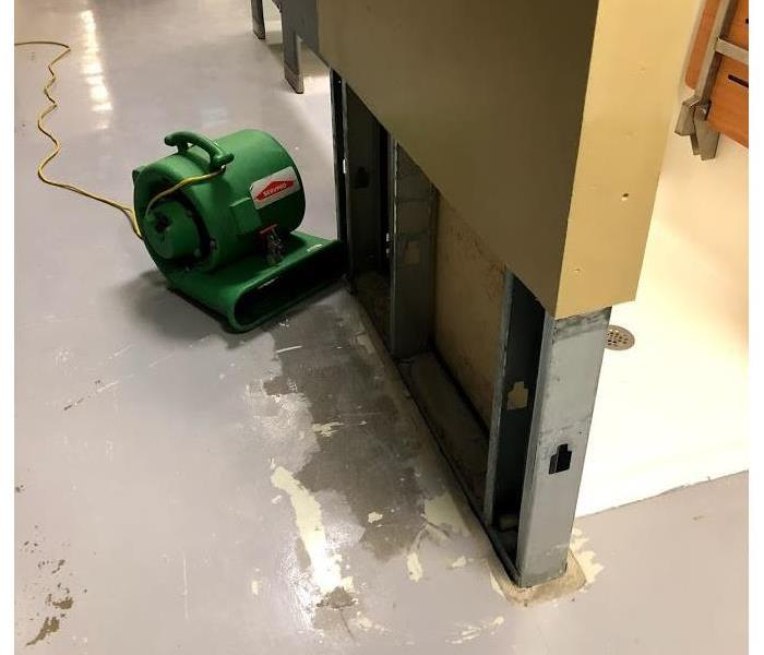 Water Damage at Business  After