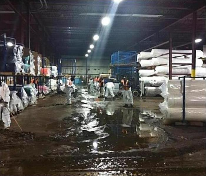 SERVPRO of St. Louis Central Handles Commercial Textile Flooding