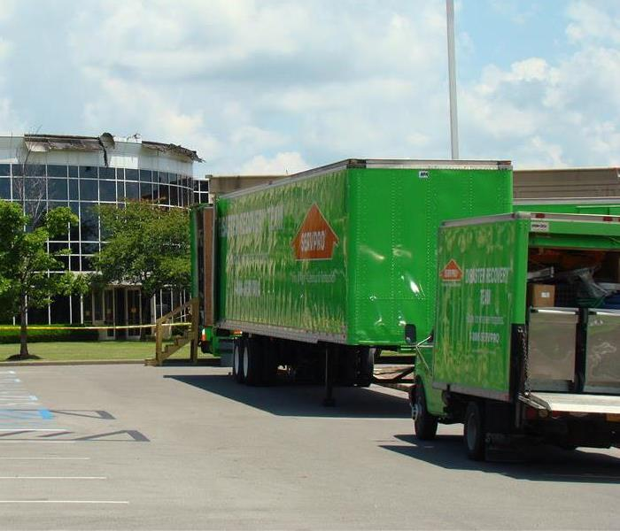 SERVPRO box truck and 53